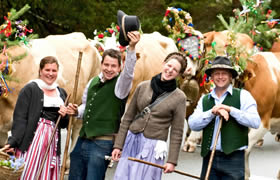Traditional event in Zauchensee